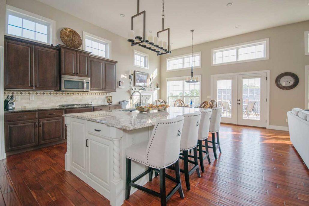 Kitchen-vs Hardwood-flooring